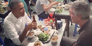Obama'nın Vietnam'daki 18 TL'lik Akşam Yemeği Dünya Gündeminde