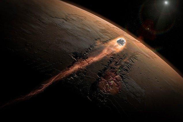 6. Mars'ın atmosferinin kaybolmasıyla ilgili biraz daha detaya inebilir miyiz?