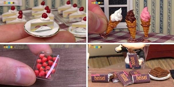 Terapi Etkisi Yaratan Yapılış Görüntüleriyle İnce Detaylara Sahip 10 Mini Yiyecek