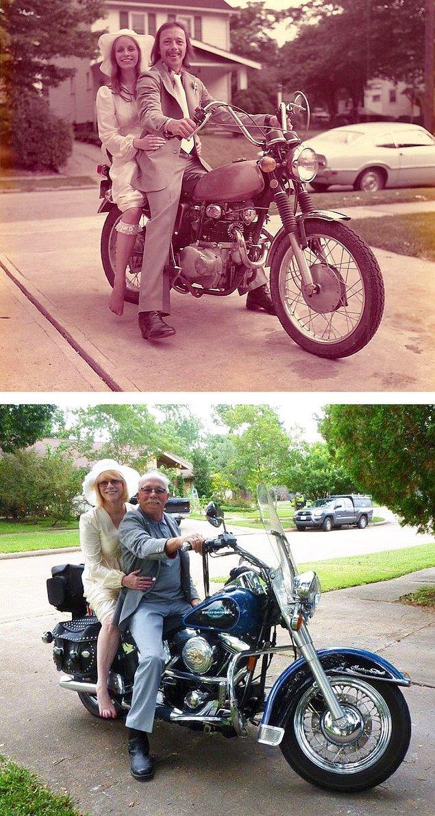 5. 1975'te çekilen fotoğraf ve 40 yıl sonra!