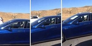En Rahat Sürücü: Tesla Aracını Otomatik Pilota Alan Adam Şoför Koltuğunda Uyudu