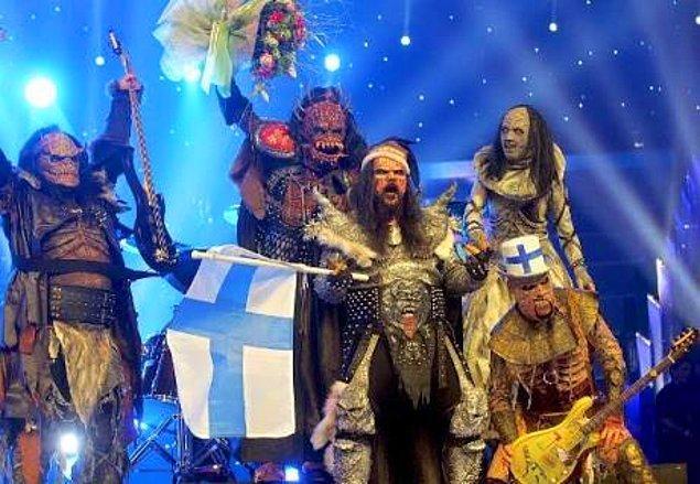 8. ve yarışmayı Lordi grubu kazanmıştı. Hakkaten noldu len sonra bunlara?