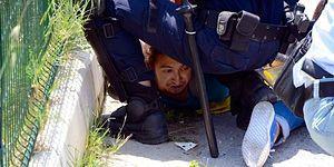 Ege Üniversitesi'ndeki 'Turnike' Eylemine Polisten Sert Müdahale