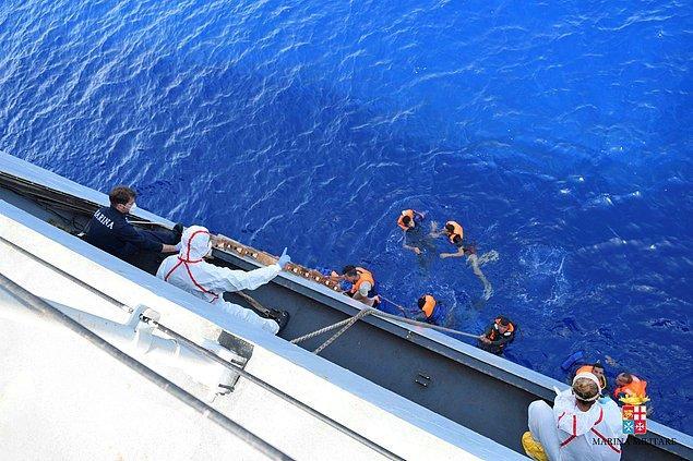 Teknede bulunanlardan beş kişinin hayatını kaybettiği, 562 kişinin de kurtarıldığı açıklandı