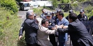 Yer Altındaki Direniş 8. Gününde: İşçilerle Görüşmek İsteyen CHP Heyetine İzin Yok