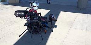 Ant-Man Cosplay'inin Hakkını Sonuna Kadar Veren Engelli Çocuk