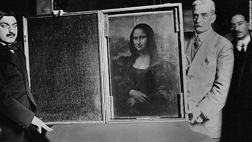"""""""Mona Lisa"""" 1911 yılında Louvre Müzesi'nden çalındığında şüphelilerden biri de Pablo Picasso'ydu. ile ilgili görsel sonucu"""