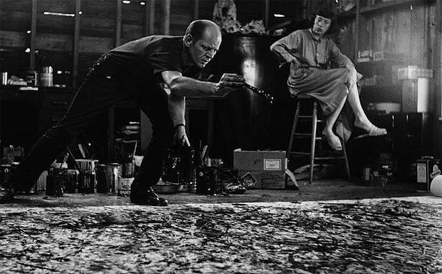14. Jackson Pollock boya olarak sıklıkla sigara kullanıyordu.