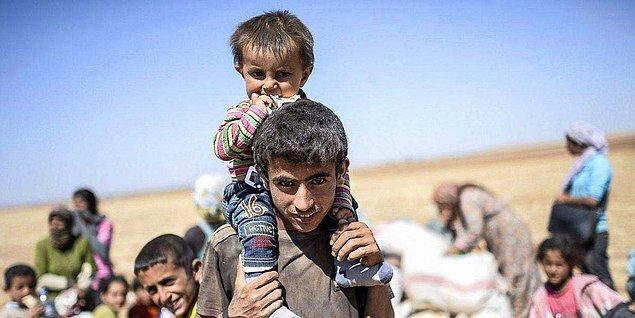 4. Başkalarının çıkardıkları savaşlar yüzünden evsiz kalan çocuklar...