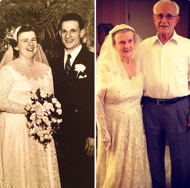 24. Evliliklerinin 60. yıl dönümü!