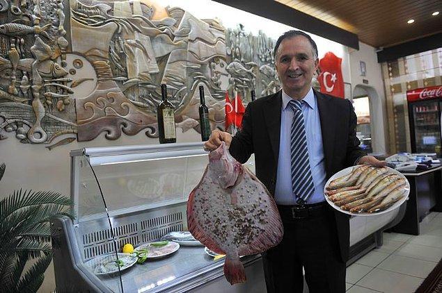 1. Trabzon'un simge balığı hamsiyi konuşturan lokanta: Fevzi Hoca