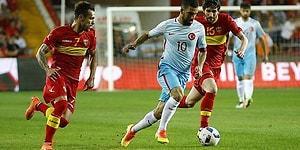 Milli Takım Son Dakikada Güldü   Türkiye 1-0 Karadağ