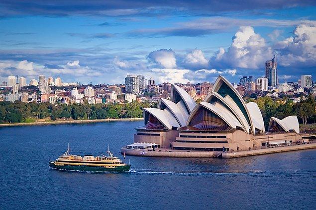 Avustralya!