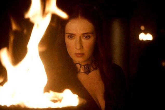 11. TV tarihinin en gizemli karakterlerinden biri şüphesiz Melisandre. Carice Van Houten kaç yaşında olabilir?