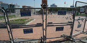Ve Gezi Parkı'na Girişler Kapatıldı