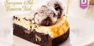 Brownie ve Cheesecake Anlayışına Yeni Soluk: Buz Gibi Dondurma Eşliğinde Sarışının Adı Esmerin Tadı
