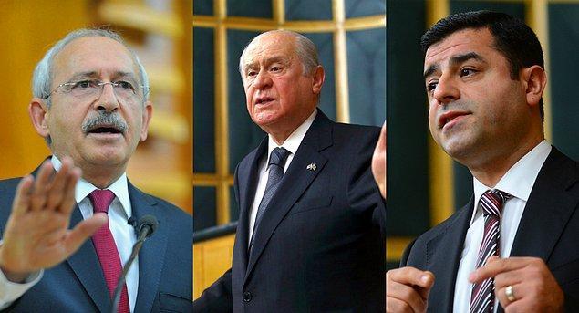 Muhalefet liderlerinden yüksek yargıya eleştiri ve davet