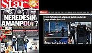 Star'ın Manşetindeki 'Fransa'da Polis Şiddeti' Fotoğrafı Euro 2016 Tatbikatındanmış...