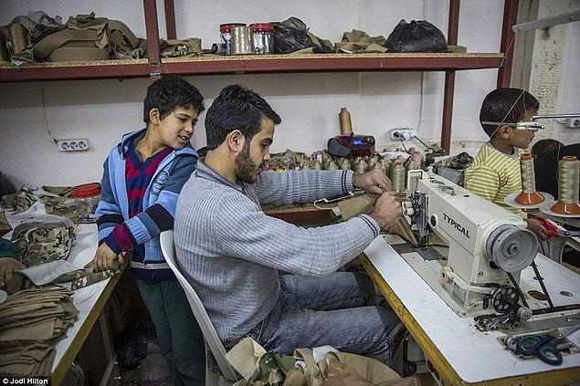 Zakour'a göre askeri kıyafetler sivil ürünlere göre çok 'daha fazla para kazandırıyor'