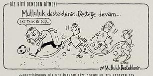 Emrah Ablak'ın Kaleminden Türkiye - Hırvatistan Maçı 15 Karikatürle Çizgiye Dönüştü!