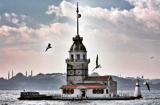 7. Kız Kulesi | İstanbul, Türkiye.