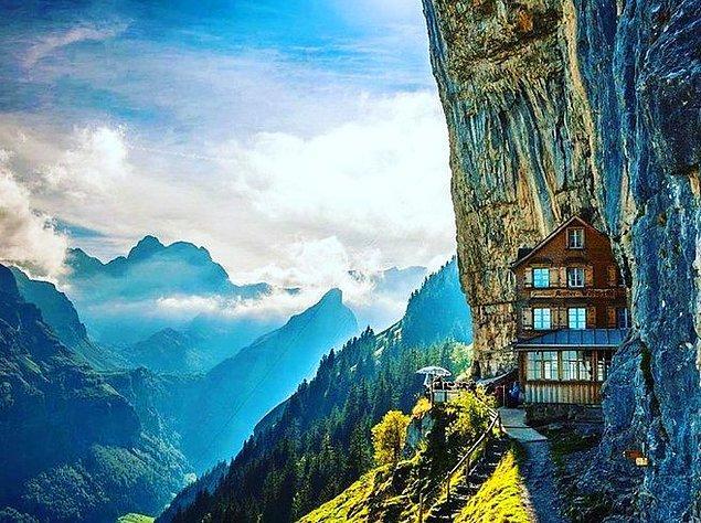 Äscher | Wasserauen, İsviçre.