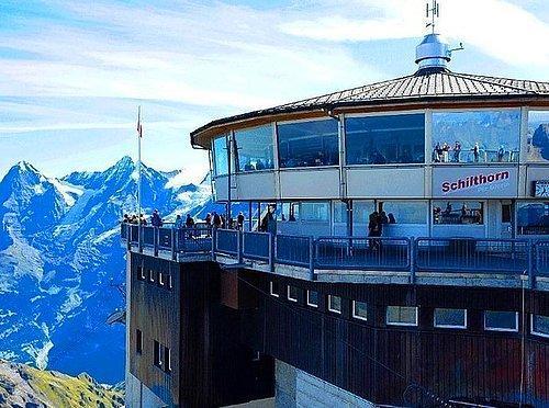 Piz Gloria | Mürren, İsviçre.