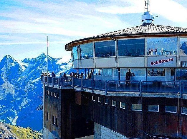 13. Piz Gloria | Mürren, İsviçre.