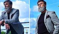 60 Yaşındaki Adam Bıyık Bıraktı, Moda Dünyasının Aranan Modeli Oldu!