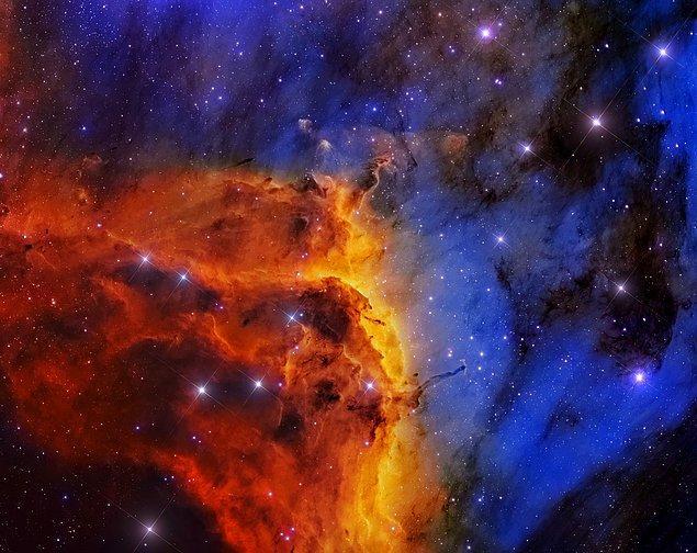 10. Pelikan Bulutsusu'nun İçerisindeki IC 5067