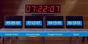 Microsoft, Google'ı Fena Kızdıracak: Chrome Pil Ömrünü Böyle Sömürüyormuş!