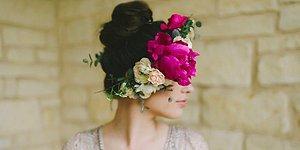 Эти 22 цветочных венка заставят вас отказаться от классической свадебной фаты