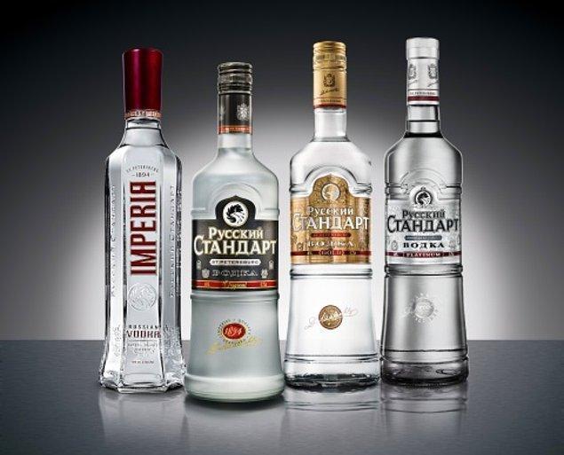 7. Rusya - Votka