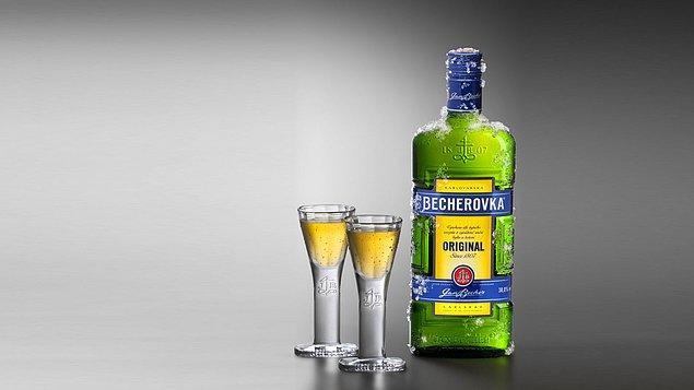 10. Çek Cumhuriyeti - Becherovka