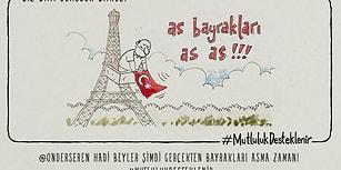 Emrah Ablak'ın Kaleminden Çek Cumhuriyeti - Türkiye Maçı 12 Karikatürle Çizgiye Dönüştü