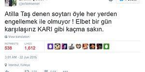 Recep Tayyip Erdoğan'ın Verdiği İftar Ertem Şener ve Atilla Taş'ı Twitter'da Kapıştırdı