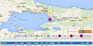İstanbul'dan da Hissedildi: Marmara Peş Peşe İki Depremle Sallandı