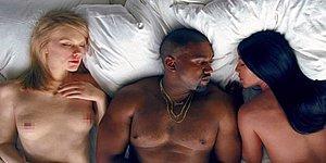 """Dünya Böyle """"Genişlik"""" Görmedi! Kanye West'in Son Klibi Adeta Çıplak Ünlüler Geçidi"""