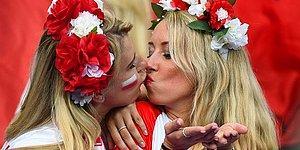 Euro 2016 Güzelleri Ateş Etmeye Devam Ediyor! İşte Tribünleri Yerinden Oynatan Güzeller