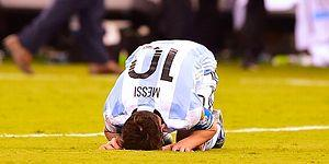 Copa America Finalinde Şili'ye Kaybeden Arjantin'de Messi Milli Takımı Bıraktı