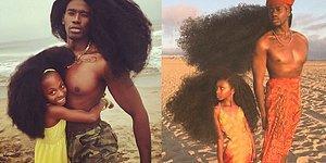 Безумная любовь и безумная причёска: Отец и дочь взорвали интернет!