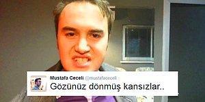 Aman Oruç Sakata Gelecek: Sakinlik Abidesi Mustafa Ceceli Twitter'da Çileden Çıktı!