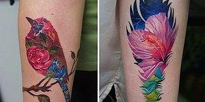 Hem İçi Hem Dışı Sanat! Çoklu Pozlama Tarzı Dövmeler Görenleri Hayran Bırakıyor