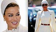 Katar'ın Muhafazakar Tarzıyla Moda Duayenlerini Dize Getiren First Lady'si: Moza bint Nasser