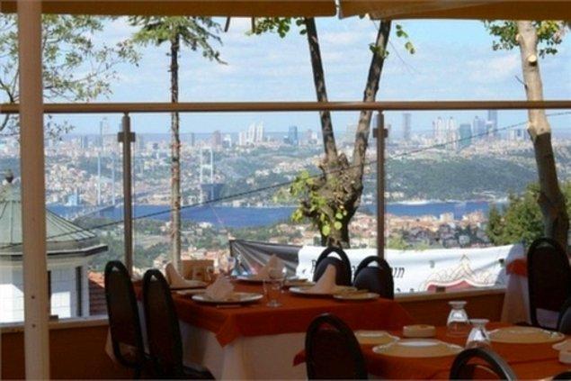 7. Çamlıca Mavera Cafe