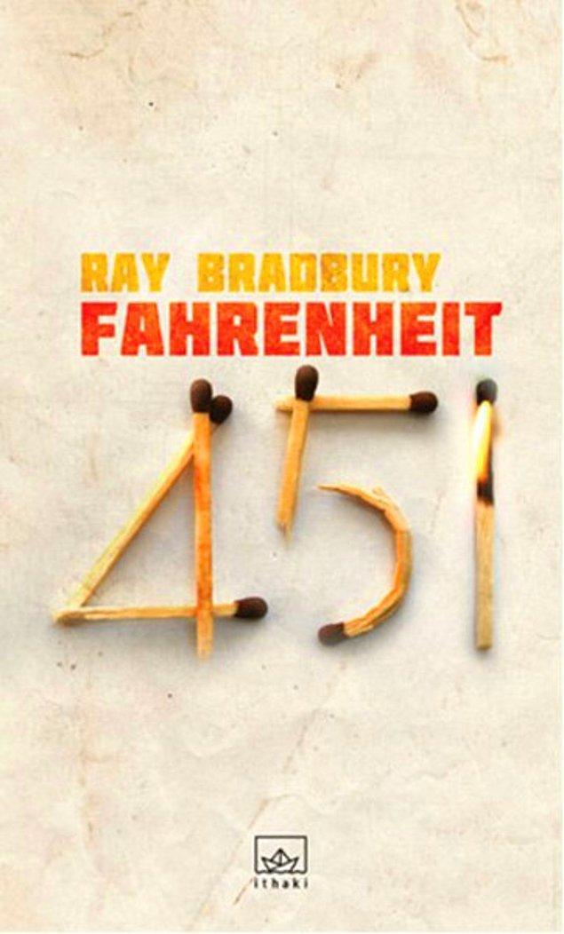 25. Fahrenheit 451 - Ray Bradbury