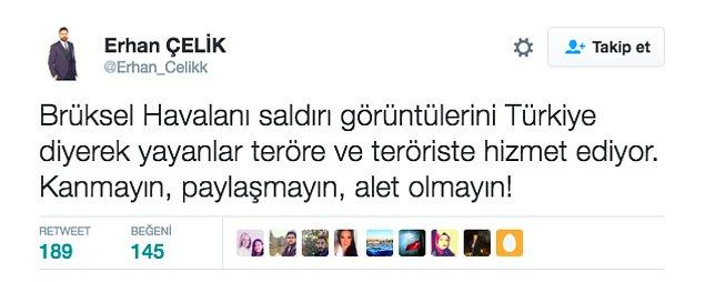 Ayrıca eşi Erhan Çelik, Ergen'in de aynı hataya düştüğünü bilmeden bu paylaşımı yaptı.