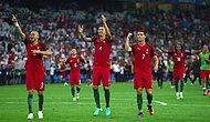 EURO 2016'da İlk Yarı Finalist Portekiz Oldu!