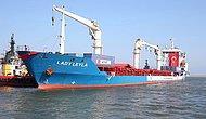 Gazze'ye Yardımları Ulaştıracak 'Lady Leyla' Aşdod Limanı'nda