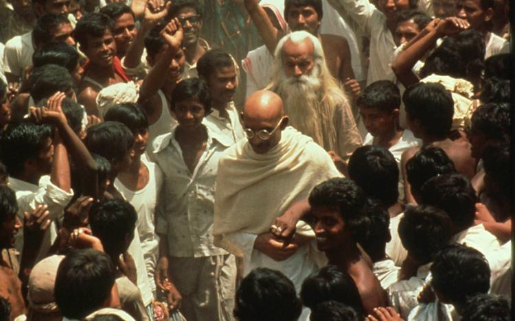 movie review of the film gandhi